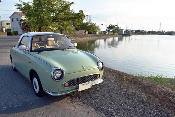 よせばいいのに「人生初の所有車」は1991年式  【日産フィガロ・酔狂 愛車日記 01】