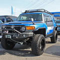 FLEXデモカー『CUSTOM FJ CRUISER』。