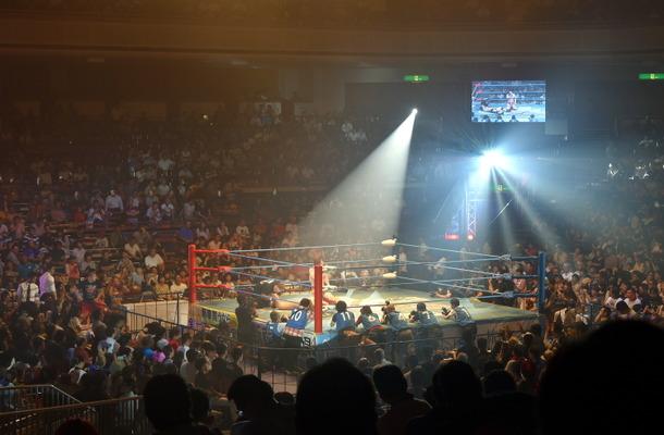 全日本プロレス45周年記念大会が盛大に行われた