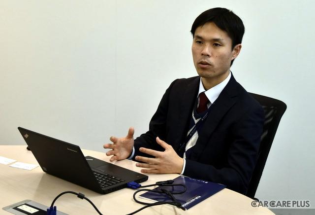 話を聞かせてくれたテュフ ラインランド ジャパン社の柏木貴志氏