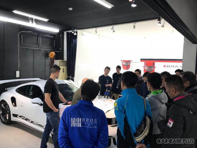 BRAY GROUP ASIA「WORK SHOP & TRAINING」講習会の様子