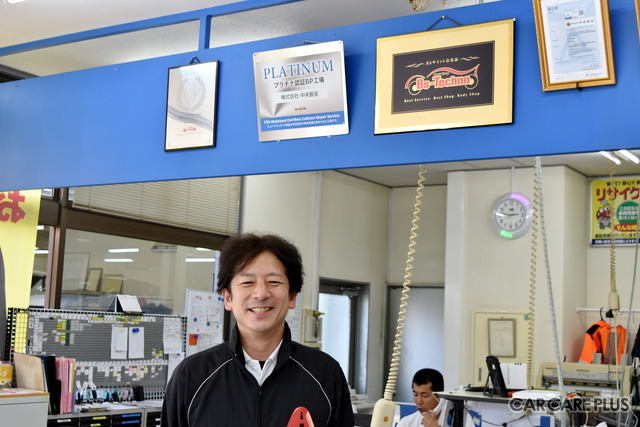 中央鈑金の磯部友昭社長