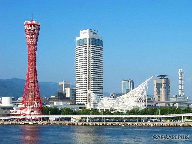 神戸港のシンボルともなっているホテルオークラ神戸