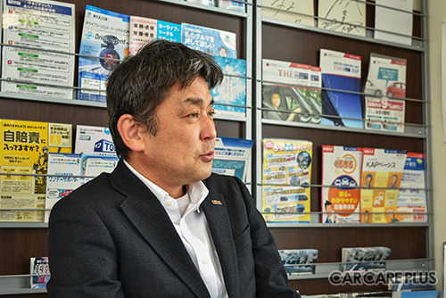 エーミングの現状と展望を語る林宏宣代表取締役
