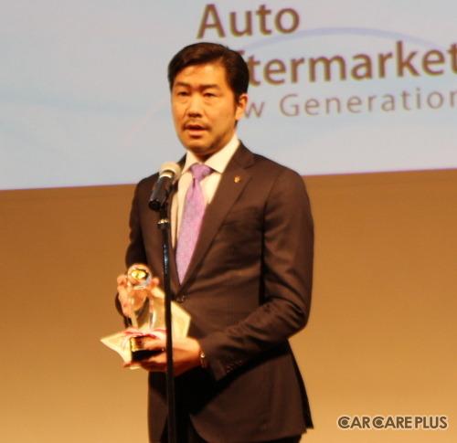 ポルシェ911が「いいクルマアワード2019」の特別賞に輝き、ポルシェジャパンの黒岩真治広報部長が登壇