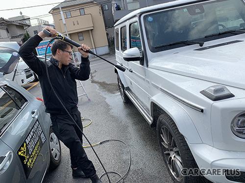 ジャパンゴールドウォッシュの訪問洗車サービス