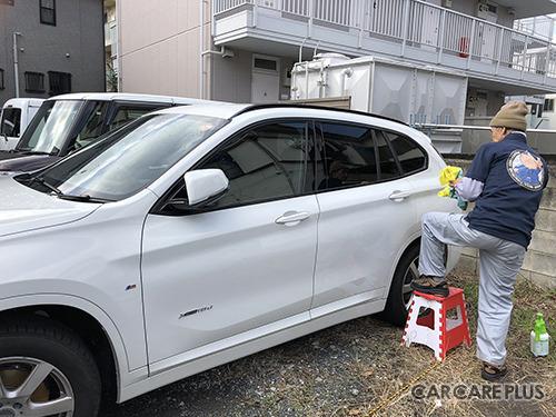 日本洗車技術指導協会の出張洗車サービス。一部のゴルフ場やゴルフ練習場でも実施中