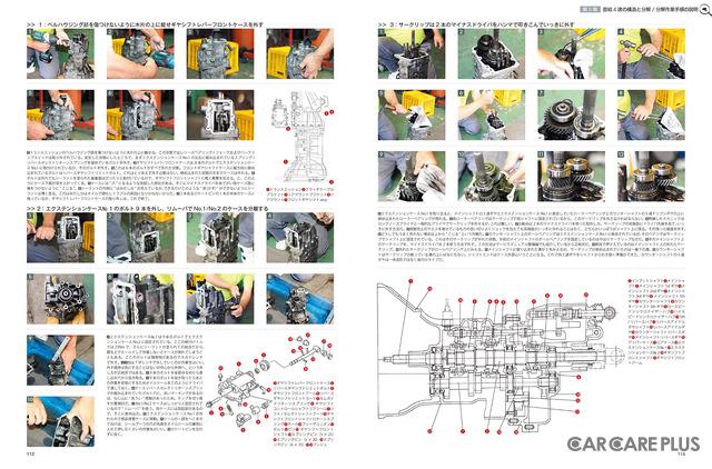 直結4速の構造と分解 / 分解作業手順の説明