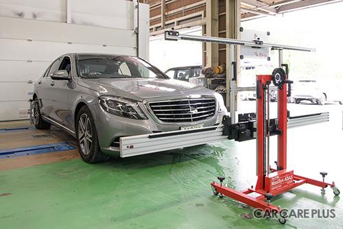 初石鈑金では、国産・輸入車問わずほとんどの車種のエーミングに対応しているという