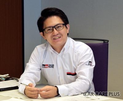 結城貴虎氏(トヨタ自動車株式会社 GAZOO Racing Company GRブランドマネジメント部 事業・モータースポーツ推進室 バリューチェーンG)
