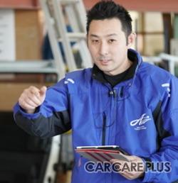 福岡市博多区「朝日自動車」金谷店長