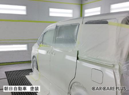 福岡市博多区「朝日自動車」塗装