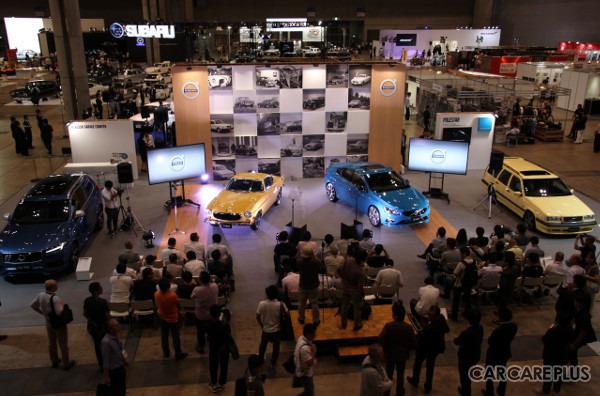 「オートモビルカウンシル2016」のボルボ・カー・ジャパンブースには、大勢の来場者がつめかけた