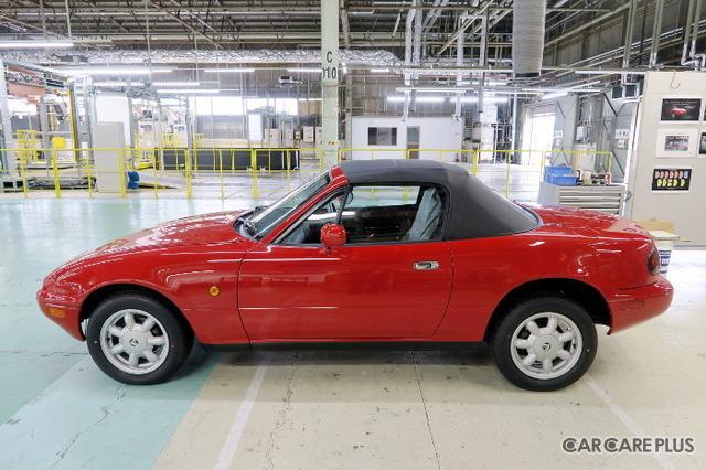 NAレストア7号車は、静岡県在住のオーナーが新車で購入した1990年式スペシャルパッケージ。オーナーが選んだメニューは「フルレストア」。