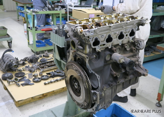 エンジンは、オーバーホール