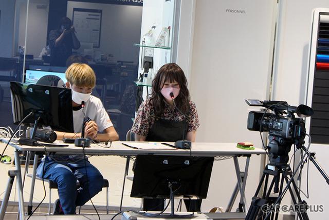 スペシャル・ゲストのたくあん選手(16歳)による、ゲーム実況とライブ配信も行われた